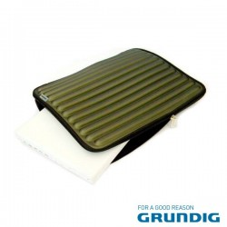 "Bolsa Laptop/Tablet 15.4"" Barras Verde Grundig"