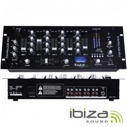 Mesa de Mistura 4 Canais 6 Entradas Usb/Gravação/Sd Ibiza
