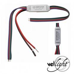 Mini Amplificador/Repetidor p/ Fita Leds Rgb 12/24V
