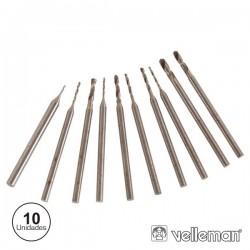 Conjunto de 10 Mini Brocas Velleman