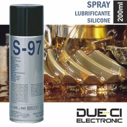 Spray de 200Ml Lubrificante Silicone Due-Ci