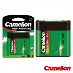 Pilha Zinco-Carvão 3R12 Plana 4.5V 2700Ma Blister Camelion