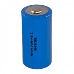 Pilha Lithium 26X50mm 3.6V 6000Ma