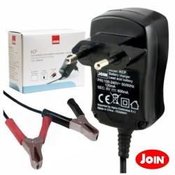 Carregador de Baterias Chumbo 2-6-12V c/ Protecção Alpha