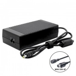 Alimentador Switching 12V 10A c/ Ficha DC + Mini Din 4P