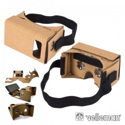 Visor de Realidade Virtual 3D p/ Sistemas Android E Ios