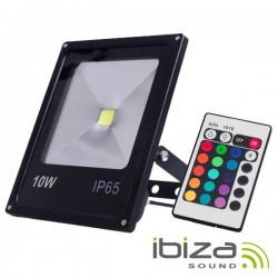 Projector Led 10W 230V c/ Comando Rgb Ip65 Ibiza