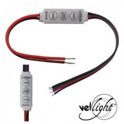 Controlador p/ Fita LEDs Rgb 12/24V