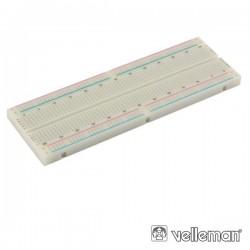 Placa de Ensaio Multifunções c/ 830 Pontos Velleman