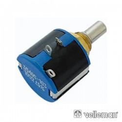 Potenciómetro 10 Voltas 500E