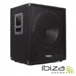 "Grave Subwoofer Bi-Amplificado 18"" 1200W Ibiza"