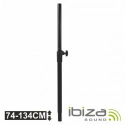 Barra Extensível p/ Coluna 35mm 74-134cm 50Kg Ibiza
