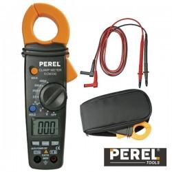 Pinça Amperimétrica Digital Ac 400A Perel