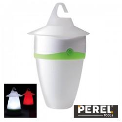 Mini Lanterna 1 Led p/ Campismo Perel