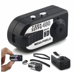 Câmara Vigilância Miniatura c/ Áudio Bateria 720P