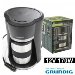 Cafeteira Eléctrica p/ Automóvel 12V 170W Grundig