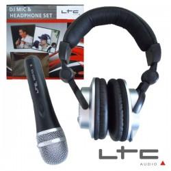 Auscultadores Dj c/ Microfone Dinâmico Ltc