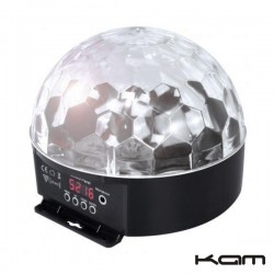 Projector Luz c/ 5 Leds 3W Rgb Dmx Kam