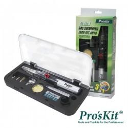 Ferro de Soldar A Gás c/ Kit Auto Ignição Proskit