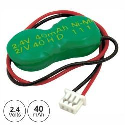 Bateria Ni-Mh 2.4V 40Ma Ficha Gb40X2