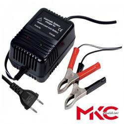 Carregador de Baterias Chumbo 2-6-12V c/ Protecção Mkc