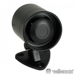 Sirene c/ Som Modulado 12V 300Ma 115Db Velleman
