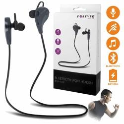 Auscultadores Stereo S/ Fios c/ Bluetooth Pretos
