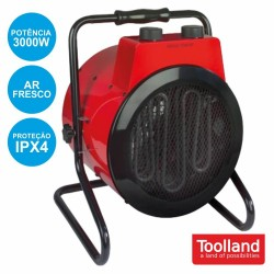 Termoventilador Industrial 3000W IPX4 - Toolland