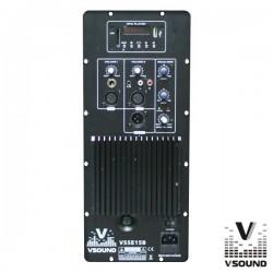 Amplificador p/Coluna Amplificada Vsse15B Vsound