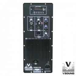 Amplificador p/Coluna Amplificada Vsse12B Vsound