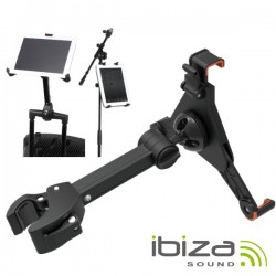 Suporte p/ Tablets E Ipad 26-64mm 360º Ibiza
