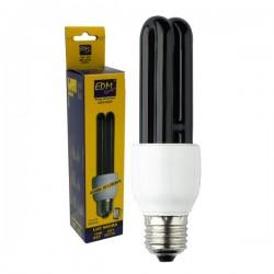 Lâmpada E27 15W 230V Eco 2U Luz Negra