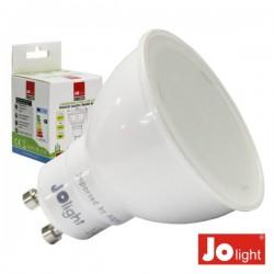Lâmpada Gu10 7W 230V Branco Quente 500Lm Jolight