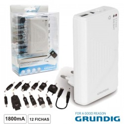 Power Bank 1800Ma c/ 12 Fichas Grundig