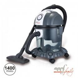 Aspirador c/Filtro Água 1400W Mfamily