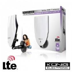 Antena Tdt Exterior Amplificada 20Db Lte Konig