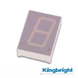 Display 1 Dígito 20mm Anodo Comum Vermelho Kingbright