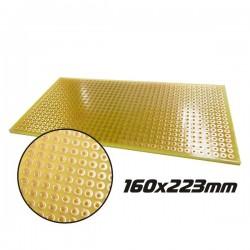 Placa Circuito Impresso Perfurada Em Pontos 160X223mm