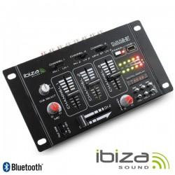 Mesa de Mistura 4 Canais 7 Entradas Usb/Bt Ibiza