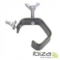 Ganchos p/ Projectores Forma G Preto 20Kg Ibiza
