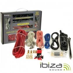 Kit de Cabos Completo p/ Amplificador/Colunas 60A Ibiza
