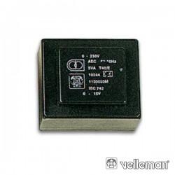 Transformador Encapsulado 1.8Va 2 X 12V / 2 X 0.075A