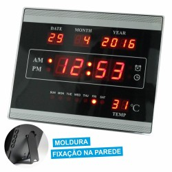 Relógio c/ Termómetro E Alarme