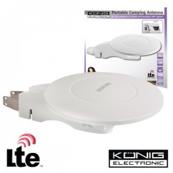 Antena Omni Direcional Amplificada Lte Konig