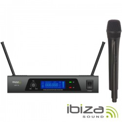 Central Microfone S/Fios 1 Canal Uhf 864.90Mhz Ibiza