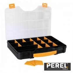 "Caixa Organizadora 18"" c/ 20 Compartimentos Perel"