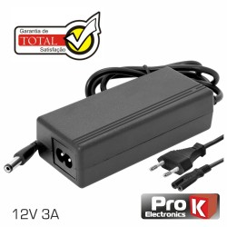 Alimentador Switching 12Vdc 3A - Prok