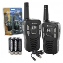 Intercomunicador S/ Fios 5Km 8 Canais Cobra