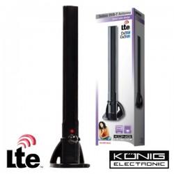 Antena Tdt Interior Amplificada 28Db Lte Konig