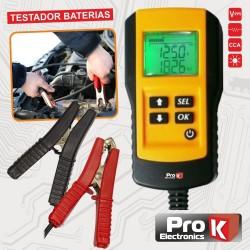 Testador de Baterias 12V Auto Digital Prok